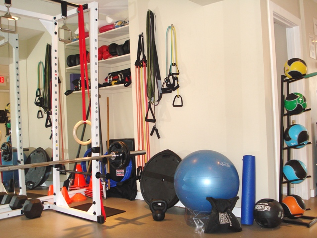 Personal trainer functional training zones